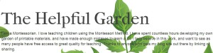 montessori helpfulgarden