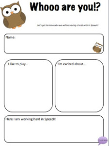 Getting to Know You Worksheet | A to Z Teacher Stuff Printable ...