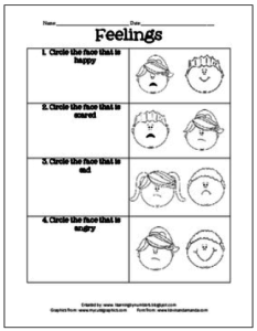 Printable Emotions Chart for Adults | ... of Cambridge developed ...