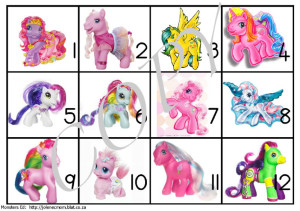 Amazing My Little Pony Workbox Tags From Monsters Ed