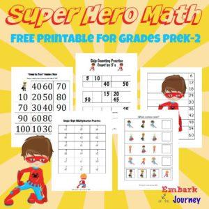 Super Hero Resources