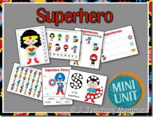 Super Hero Resources