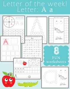 Letter A Resources