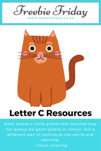 Letter C Resources