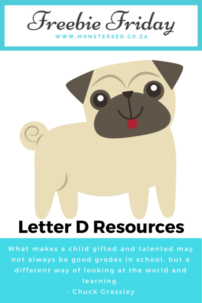 Letter D Resources