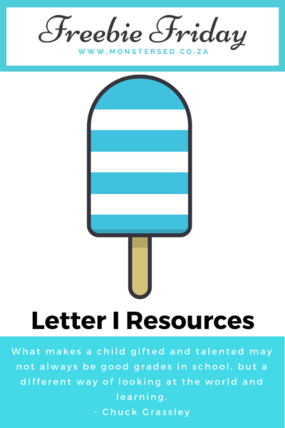 Letter I Resources