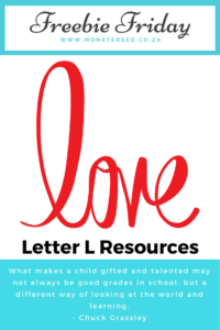 Letter L Resources