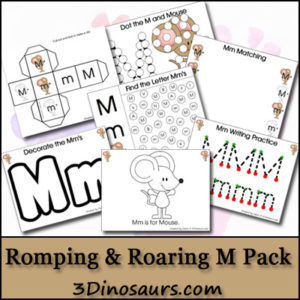 Letter m Resources