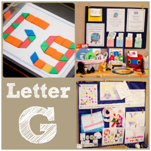letter G resources