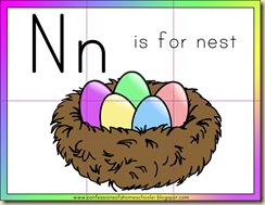 Letter N Resources
