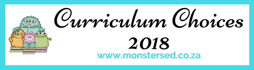 curriculum choices 2018