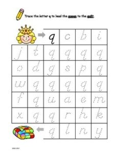 Letter Q Resources
