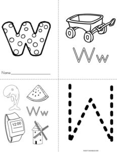 Letter W Resources