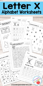 Letter X Resources