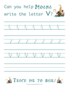 Letter V Resources