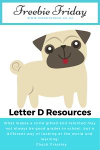 Letter D Resources