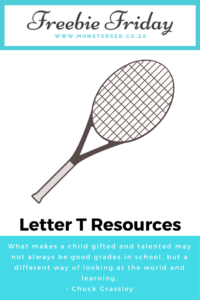 Letter T Resources