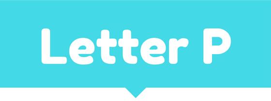 Letter P Resources