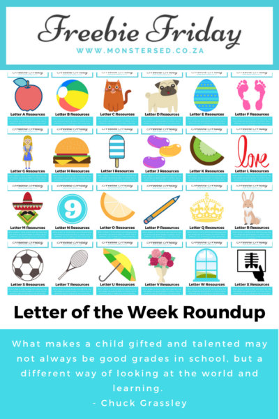 Letter of the Week Roundup