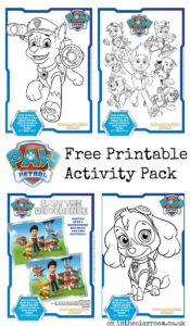 Freebie Friday - Paw Patrol