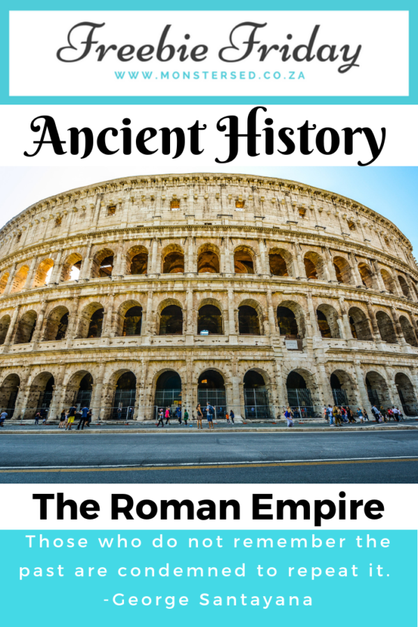 Freebie Friday - The Roman Empire