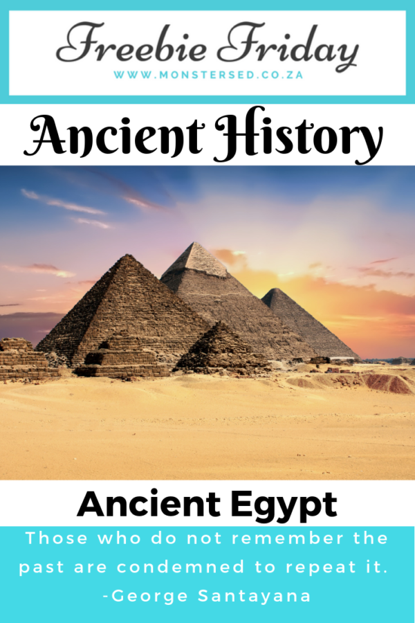 Freebie Friday - ancient egypt resources