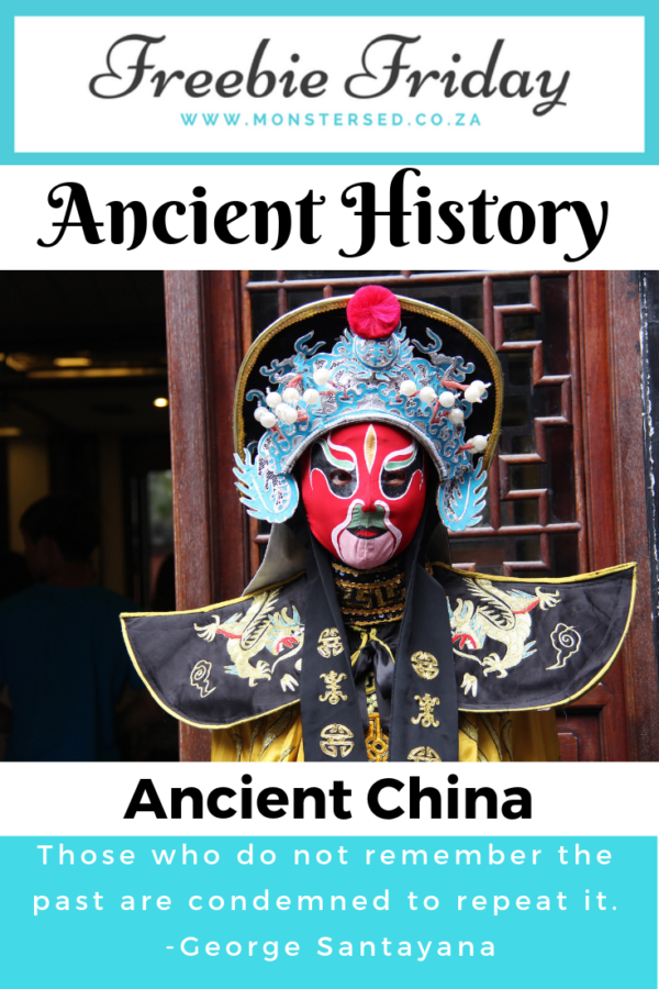 Freebie Friday - Ancient China