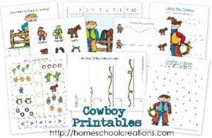 Cowboy Printables