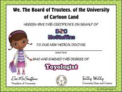 Doc McStuffins Resources
