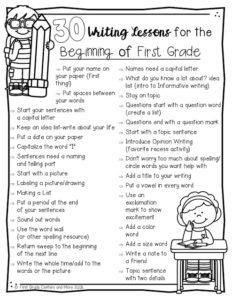 Grade 1 Resources