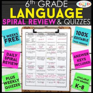 Grade 6 Resources
