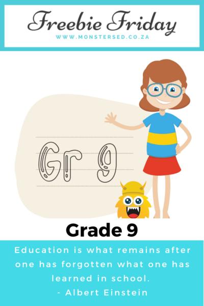 Grade 9 Resources