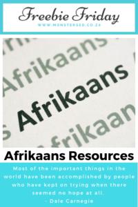 Afrikaans Resources