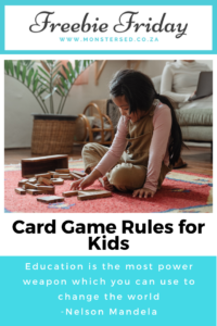 Card Game Rules for Kids