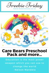 Care Bears Preschool Pack