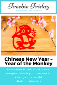 Chinese New Year – Year of the Monkey