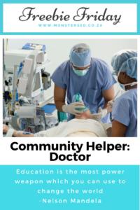 Community Helpers: Doctor Resources