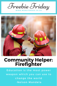 Community Helpers: Firefighter Resources