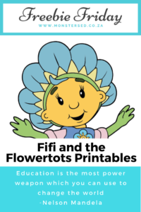 Fifi and the Flowertots Printables
