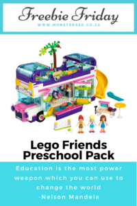 Lego Friends Preschool Pack