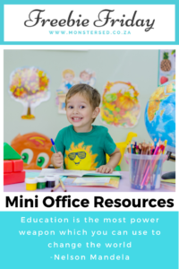 Mini Office Resources