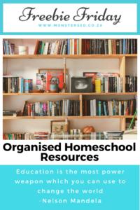 Organised Homeschool Resources