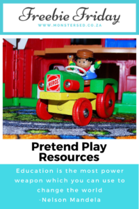 Pretend Play Resources
