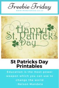 St Patricks Day Resources